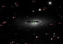 """Старый снимок галактики NGC1023, на котором видно присутсивие """"возможной сверхновой"""""""